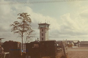 Rocket City Airpatch (Bien Hoa) Control tower.