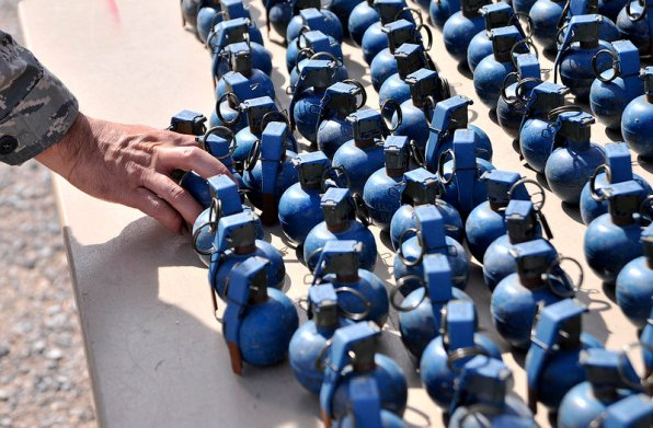 training granades