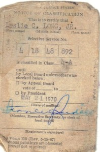 Butch Long Draft Card Front copy 1 - Copy