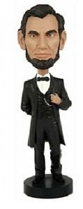 For he that shall have borne the battle bobble head doll