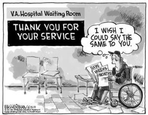 va waiting room