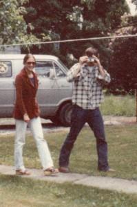 Roger and Barbara circa 1981