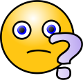 Emoticons-Question-face