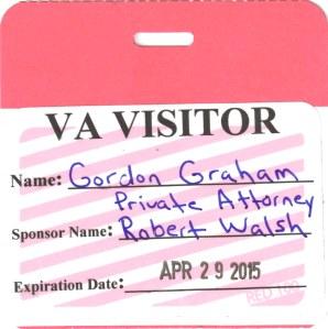 VA Visitor Badge