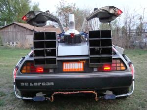 back-to-the-future-delorean-for-sale-lights