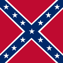 Battle Flag of the Army of  Northern Virginia.