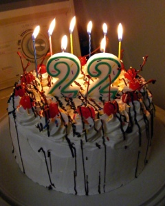 22th-birthday-cake
