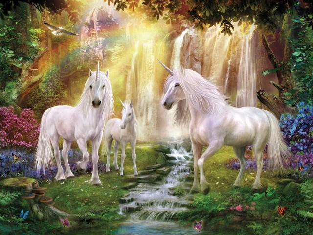 waterfall-glade-unicorns